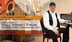 Klavirski koncert Bogdana Đorđevića 6. septembra u Sinagogi