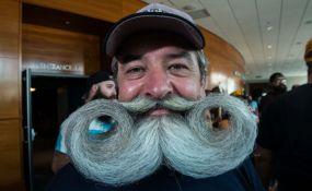 VIDEO: Merili ko ima dužu bradu i brkove