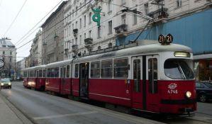 Tramvaj ukraden sa stanice u Beču