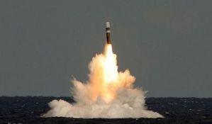 Britanija lansirala raketu koja je promenila kurs