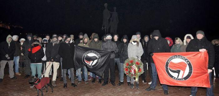 Antifašisti polaganjem venca obeležili 75. godišnjicu Novosadske racije