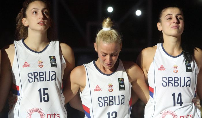 Poraz Srbije od Ukrajine na oproštaju Milice Dabović