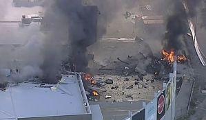 VIDEO: Avion pao na šoping centar kod Melburna