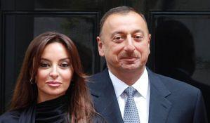 Predsednik Azerbejdžana postavio suprugu za potpredsednicu