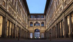 Grom udario galeriju Ufici u Firenci