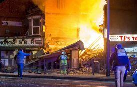 VIDEO: Četvoro povređeno u snažnoj eksploziji u Lesteru
