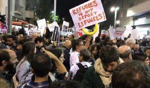 Tel Aviv: Više hiljada tražilaca azila protestovalo zbog najavljene deportacije