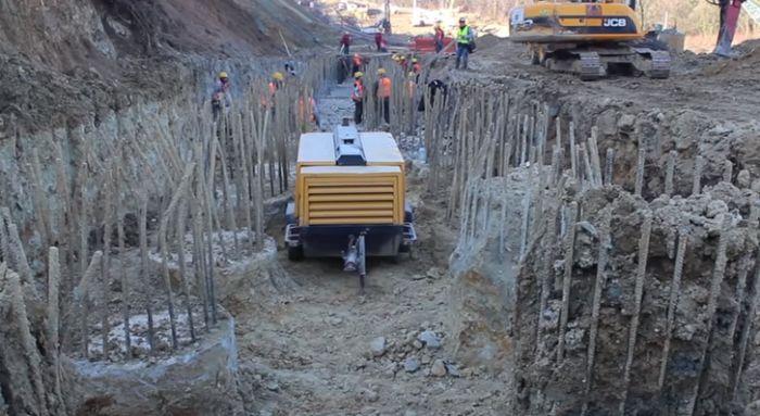 Izgradnja vijadukta kod Čortanovaca teče po planu, od marta radovi na tunelu