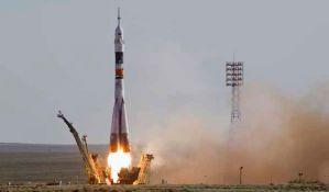 Lansirana raketa Sojuz na istoku Rusije
