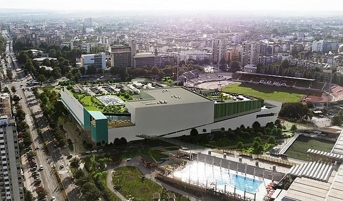 Grad se sprema za uređenje prostora oko budućeg tržnog centra