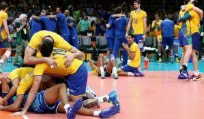 Odbojkaši Brazila preko Italijana do zlata