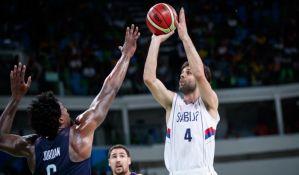 FOTO: Težak poraz Srbije od SAD, košarkašima olimpijsko srebro