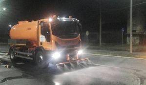 Čistoća isprobala novu cisternu za pranje ulica