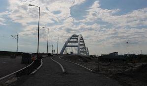 Čeka se na tehnički prijem pristupnih saobraćajnica ka Žeželjevom mostu