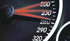 Za jedan dan zbog brze vožnje kažnjeno 1.500 vozača