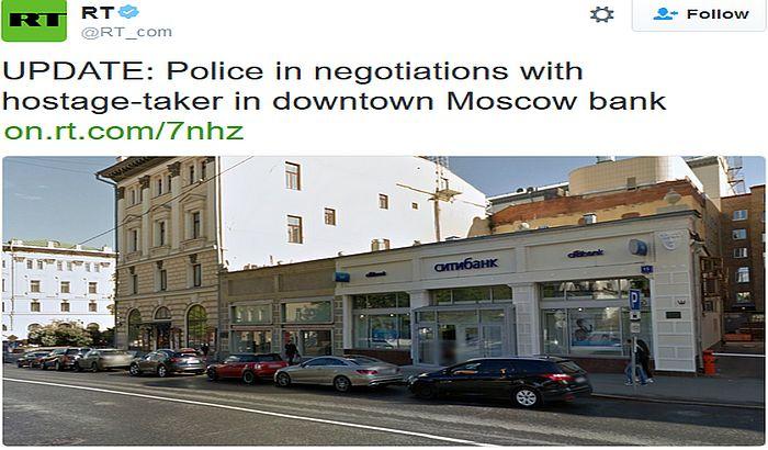 Napadač u Moskvi se predao, nema eksploziva