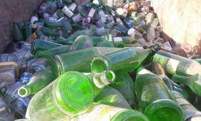 Prikupljanje staklene ambalaže ove nedelje na pet lokacija u Novom Sadu