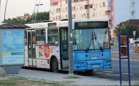 Autobusi GSP-a na liniji 13 danas menjaju trasu