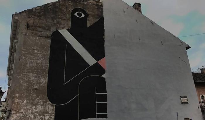 Parastos Remedovom muralu danas u Gimnazijskoj ulici
