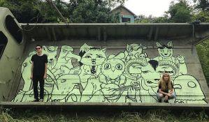 FOTO: Oslikani prvi murali na Fruškoj gori