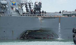 Mornarica SAD obustavlja operacije širom sveta zbog sudara razarača