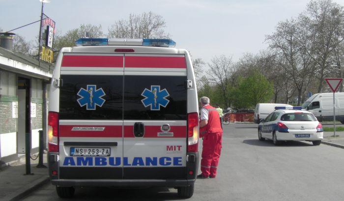 Troje povređenih u udesima kod naplatne rampe Sirig i u Budisavi