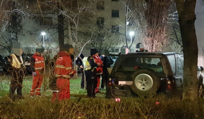 Vozač džipa pijan bežao od policije od Veternika do Avijacije