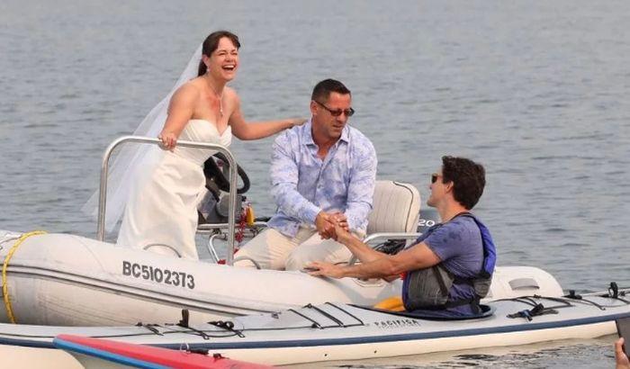 FOTO: Kanadski premijer kajakom upao na venčanje