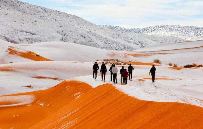 VIDEO: U Sahari pao sneg