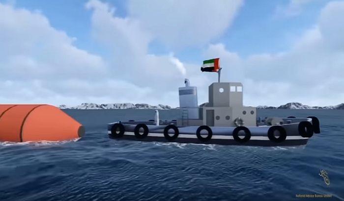 VIDEO: Ujedinjeni Arapski Emirati će odvlačiti sante sa Antarktika