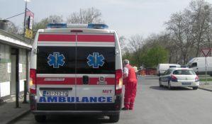 Dvoje povređenih u udesima u Sremskoj Kamenici i Kovilju