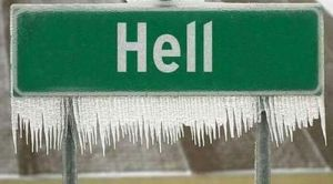 U SAD je toliko ledeno da se smrzao i Pakao
