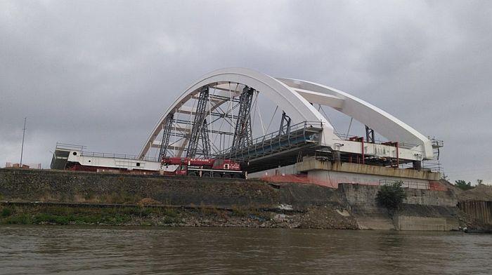 Preko Žeželjevog mosta peške od sredine novembra