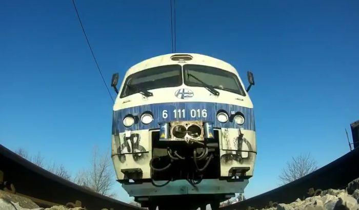 VIDEO: Ovako bi izgledalo kada bi iznad vas prešao voz