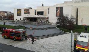 FOTO: Vatrogasci izveli vežbu na zgradi SNP-a, zbunili građane