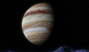 Razotkrivene superoluje na Jupiteru