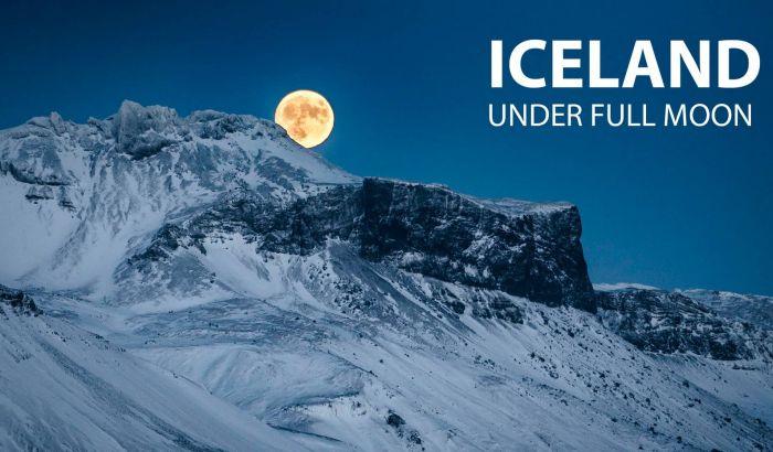 VIDEO: Lepote Islanda pod svetlošću punog Meseca