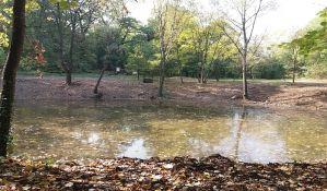 Završen deo sanacije jedinog jezera u Kameničkom parku