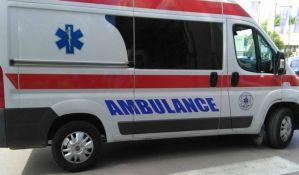Teška nezgoda na Podbari, muškarac prevezen na reanimaciju