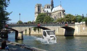 VIDEO: Pariz bi uskoro mogao da dobije taksi na vodi