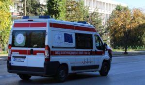 Dvojica povređena u lančanom sudaru u Rumenačkoj ulici