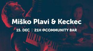 Miško Plavi i Keckec u petak u Startit baru