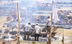 FOTO: Roštilj za Ginisa - u Urugvaju ispečeno više od 10 tona mesa