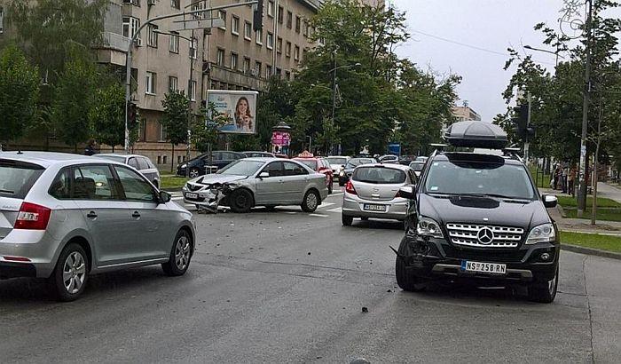 FOTO: Udes Člana Gradskog veća Vladimira Jelića kod Varadinskog mosta