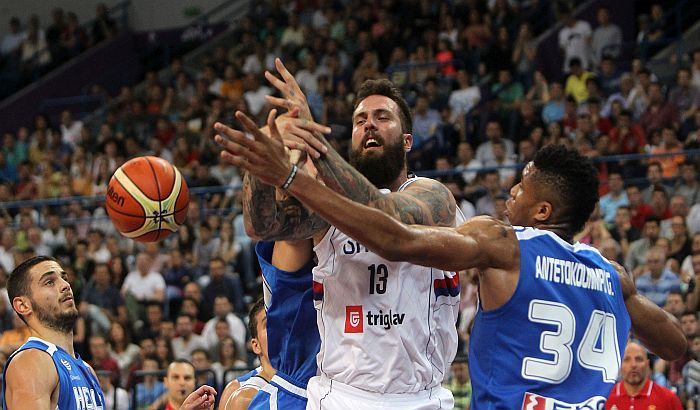 Srbija ubedljiva protiv Grčke pred kvalifikacije za OI