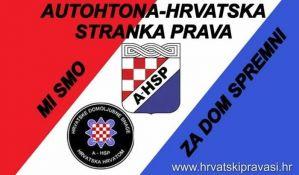 Esktremni desničari marširali u Zagrebu u znak podrške Trampu