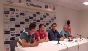 Vanić pred Ružomberok: Za prolaz moramo da igramo svih 90 minuta