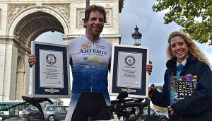 VIDEO: Oborio svetski rekord - za 78 dana prešao svet na biciklu