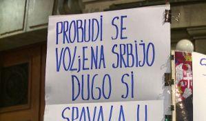 Skup podrške novinaru Vukašinu Obradoviću koji štrajkuje glađu