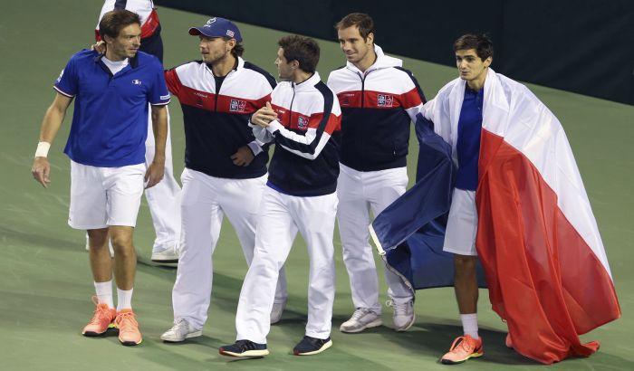 Dejvis kup: Francuzi u polufinalu